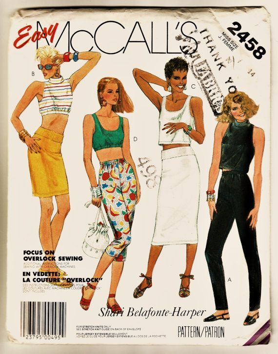 McCall's 2458 Pattern Shari Belafonte FAB by harmonycollectibles