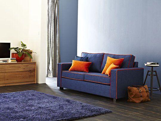 Kobe 2.5 Seater Sofa Bed
