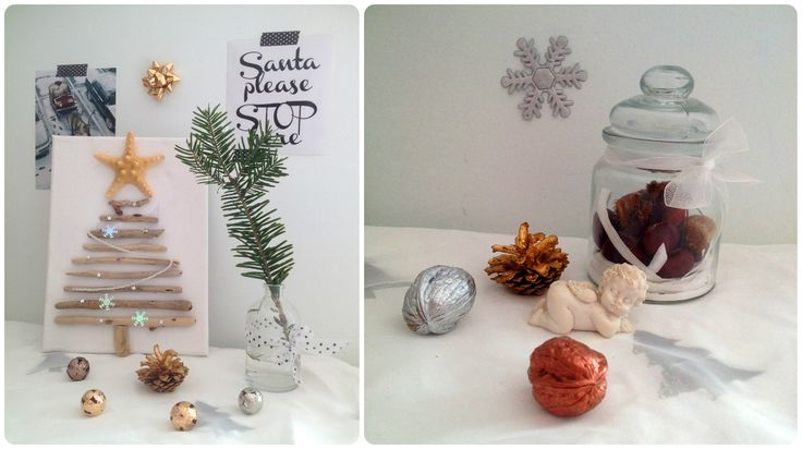 Christmas Decoration by CalabrianSunshine  Costal Christmas Tree - Natural Decoration