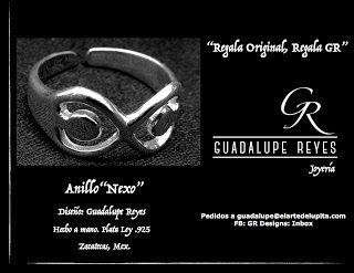 "Joyeria GR- Guadalupe Reyes: Anillo""Nexo"" Diseño: Guadalupe Reyes Hecho a mano..."