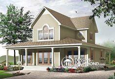 Plan de maison no. W3511 de dessinsdrummond.com