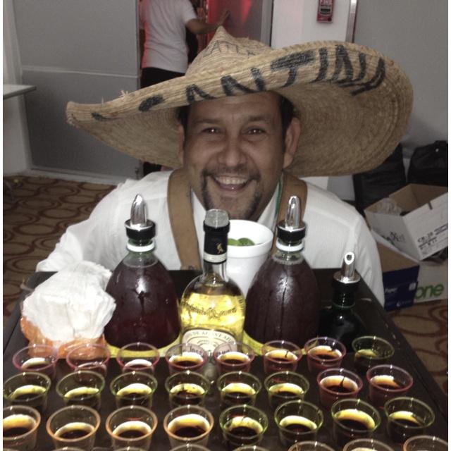 Carrito De shots apunto d salir a la boda!!