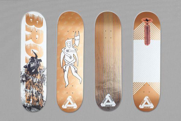 Palace Skateboards x Bronze 56K Collection. - Clube do skate.