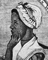 Phillis Wheatley (b. 1753 - 1784) Published poetry and became the first African American to have a book published. What a great movie this would make.