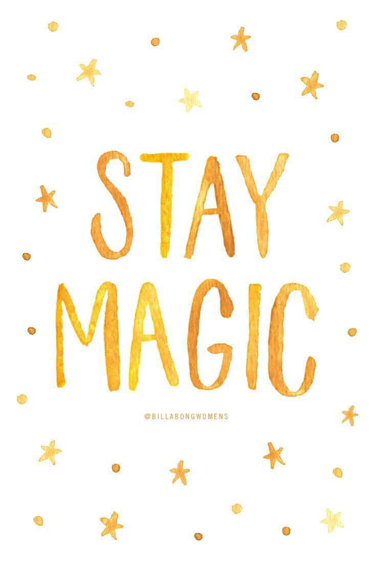 Stay Magic #giveBILLABONG
