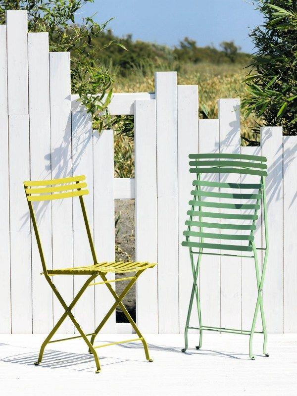 FLOWER Folding garden chair by Ethimo