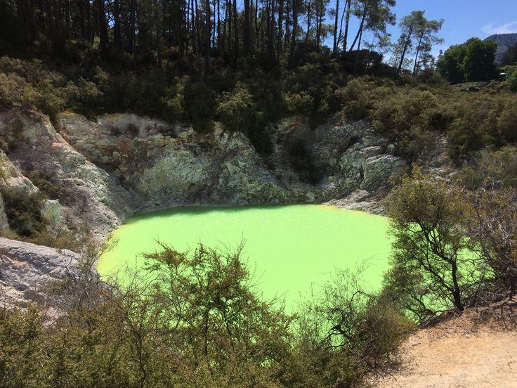 Devil's Bath / Wai-O-Tapu Thermal Wonderland / Rotorua