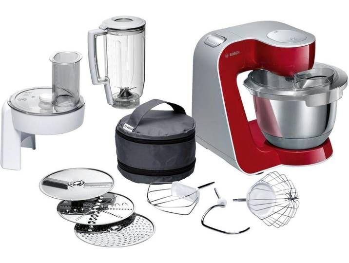Bosch Kuchenmaschine Creationline Mum58720 Rot Kitchen Machine