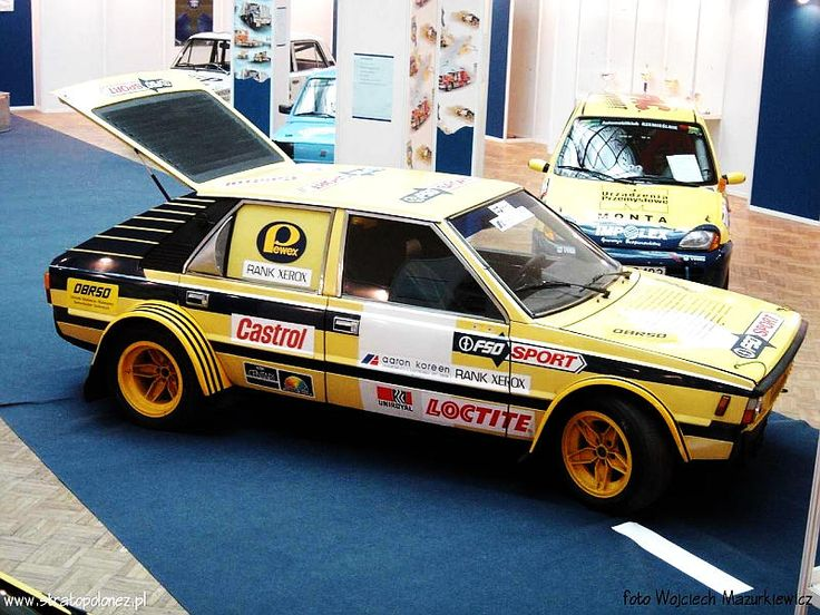 The wonderfully named FSO Stratopolonez, being a cross between an FSO (Fabryka Samochodów Osobowych) and a Lancia Stratos. Well, in name perhaps. Intended as a Group S rally car. Lancia achieved great things with the Delta, so why not FSO with the Polonez?