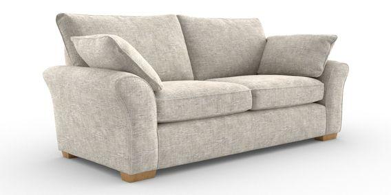 Admirable Buy Garda Large Sofa 3 Seats Boucle Weave Putty Block Cjindustries Chair Design For Home Cjindustriesco