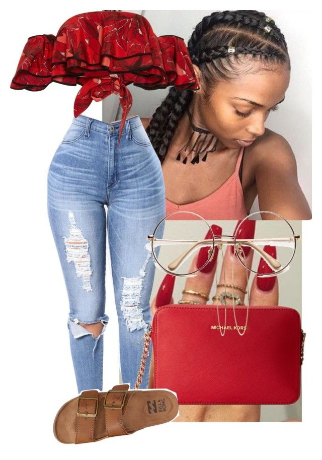"""""""Untitled #332"""" by bebelindaedouard ❤ liked on Polyvore featuring Johanna Ortiz, Michael Kors, Dean Harris and Billabong"""