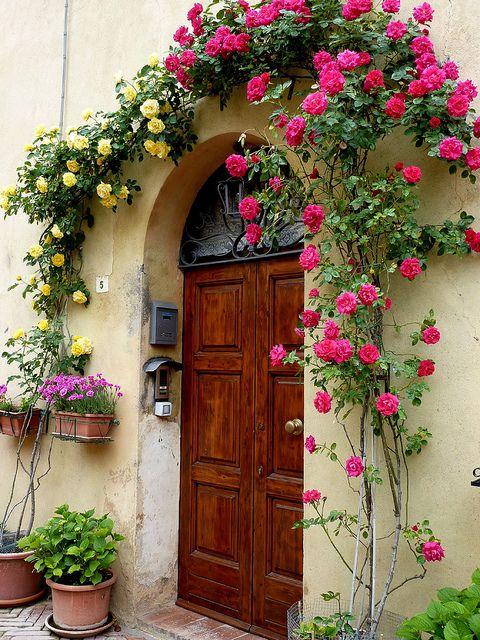 Beautiful Entrance - Pienza, Tuscany, Italy