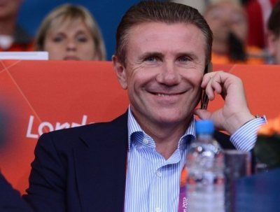 legend Sergey Bubka attends the judo event at the London 2012 Olympic Games