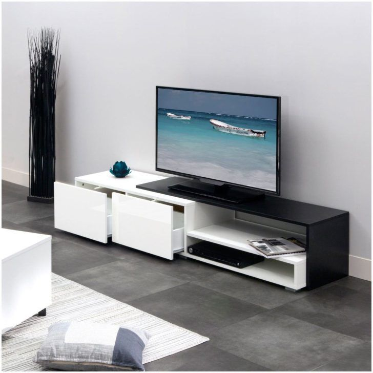 Interior Design Meuble Laque Blanc Meuble Tv Hifi Design Elios