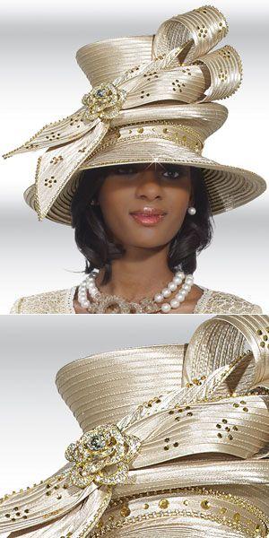 African American Church Hat | 2013 Unique Women Church Hats | Women Church Suits