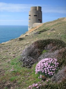 German fortifications still remain on Jersey, Channel Islands which were occupied during WWII