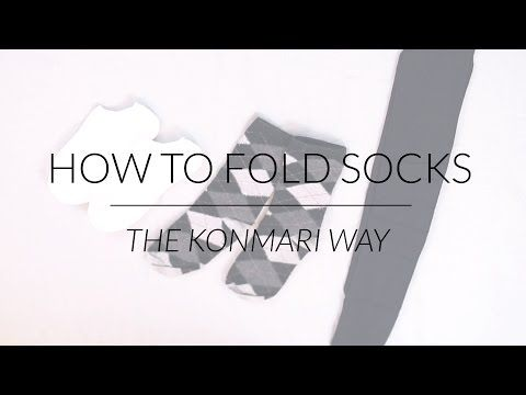 Learn How to Use the KonMari Method For Folding Socks — It Will Transform Your Drawer