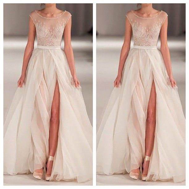 Stunning Non Traditional Wedding Dresses : Gorgeous non traditional wedding dress aoii
