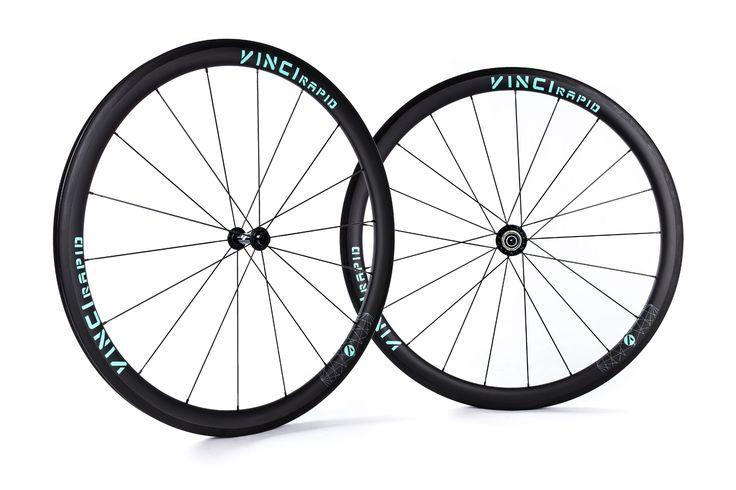 VINCI RAPID 40mm tubular or clincher | VINCI - carbon road bike wheels