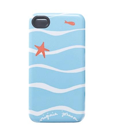 Virginia Johnson iPhone case, surf