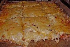 Hackfleisch - Pizza mit Sauce Hollandaise, ein leckeres Rezept aus der Kategorie Pizza. Bewertungen: 17. Durchschnitt: Ø 4,2