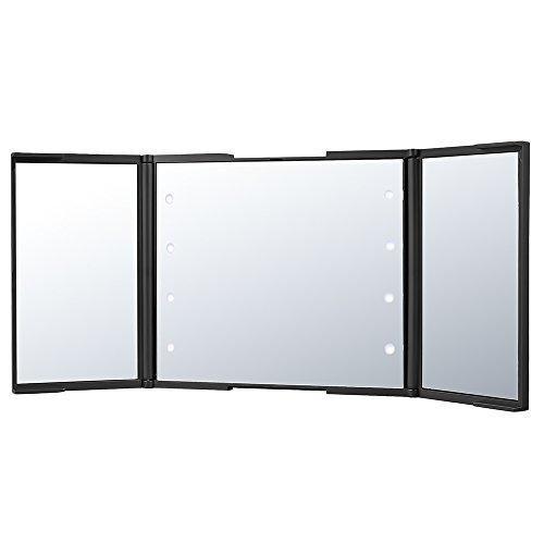 Oferta: 15.99€ Dto: -47%. Comprar Ofertas de Plemo Plegable Espejo Cosmético con Luz LED Aumento 2x para Afeitar y Maquillaje barato. ¡Mira las ofertas!