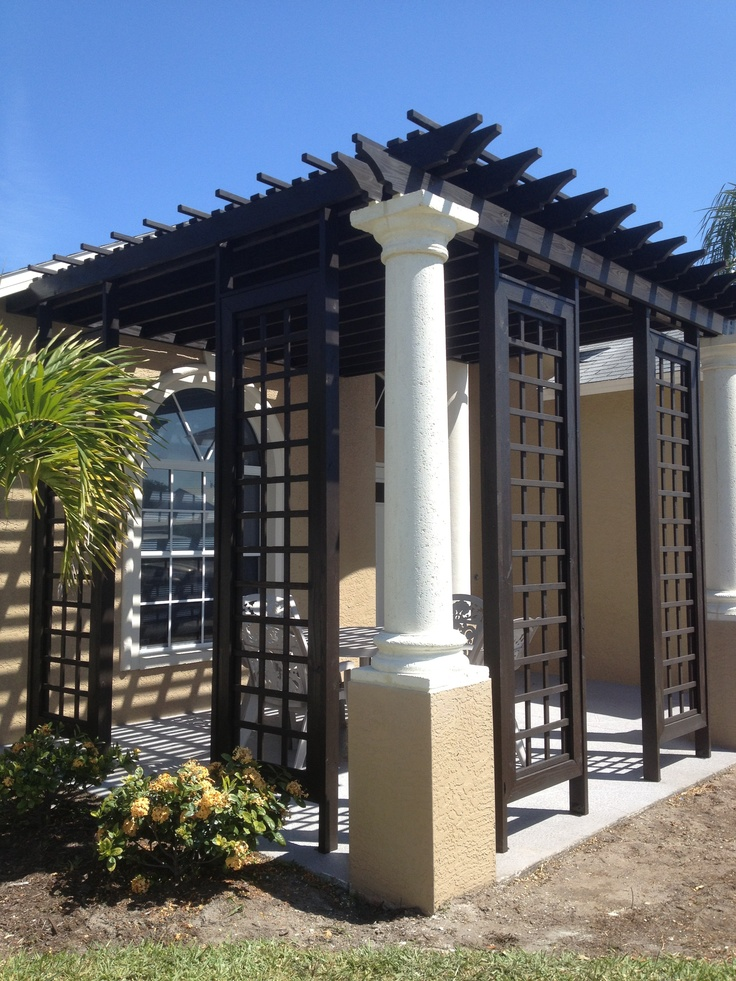 Shade Pergola designed and built by Architectural
