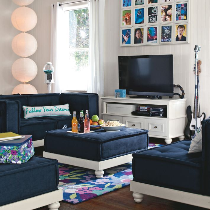 trendy furniture decor ideas for teen living room by pbteen best of living room