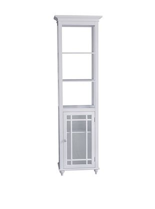 36% OFF Elegant Home Fashions Neal Linen Tower, White