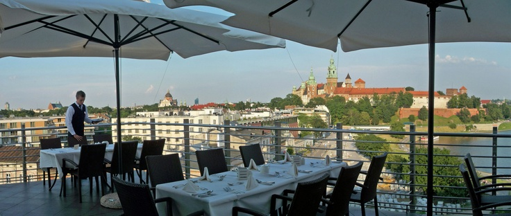 THE BEST VIEW IN KRAKOW!!  Restaurant Cafe Oranżeria-terrace