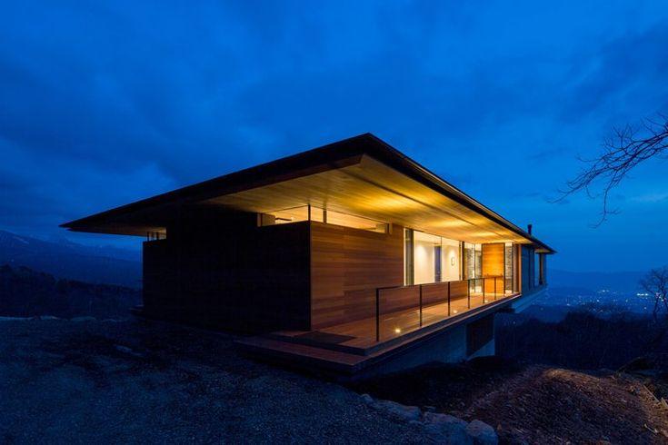Kidosaki Architects Studio Studio, House In Yatsugatake, Nagano, Giappone, 2012