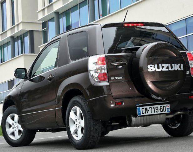 Suzuki Grand Vitara 3 doors Characteristics - http://autotras.com