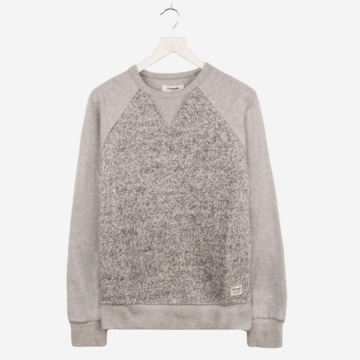 La Panoplie // Wool Melange Sweat Grey