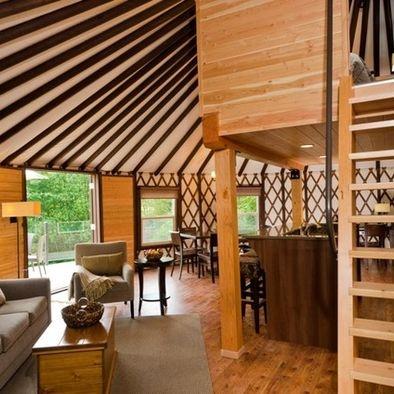 coastal living design yurt