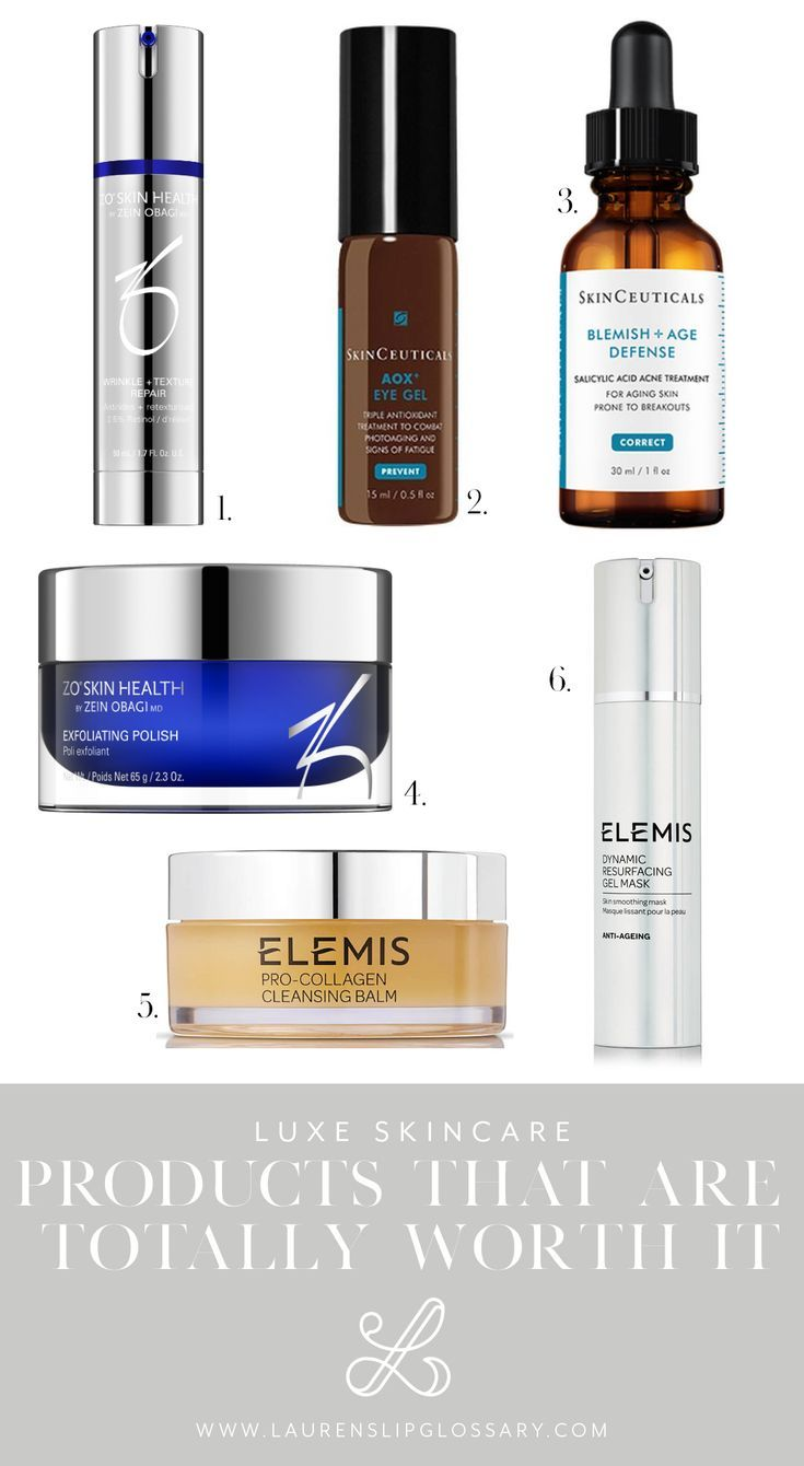 Luxe Skincare Products That Are Totally Worth It Reviews Of Elemis Skinceuticals Zo Skin Health Medical Grade Skin Care Aging Skin Care Diy Skincare Dupes