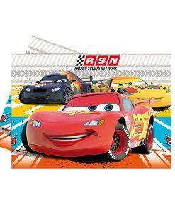 Doğum günü parti süslemeleri için Arabalar Temalı Masa Örtüsü ürünümüzü online olarak uygun fiyatlar ile satın alabilirsiniz