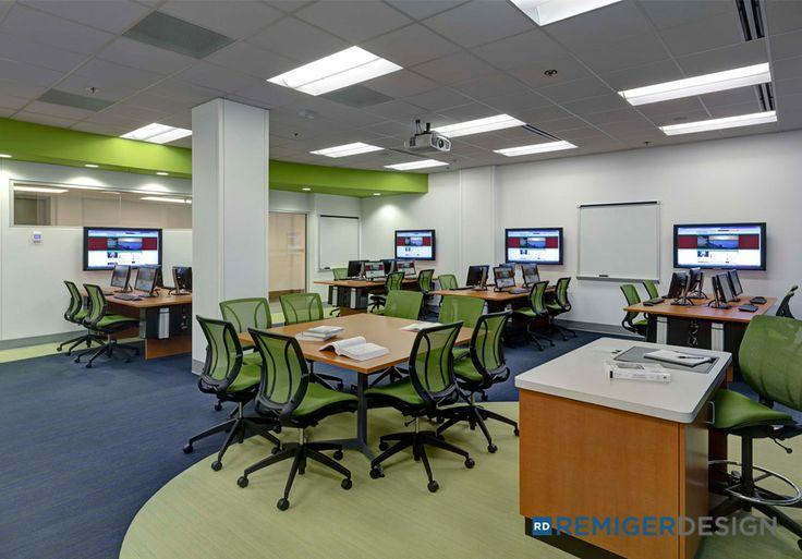Computer Lab - Washington University, St. Louis, MO.  Designed by REMIGERDESIGN