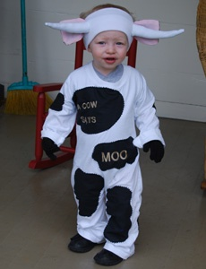 halloween a cow says moo costume - Baby Cow Costume Halloween