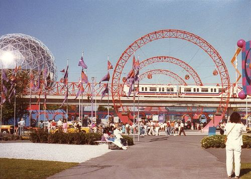 Vancouver World's Fair; Expo 86--I loved the whimsical grounds of this Expo