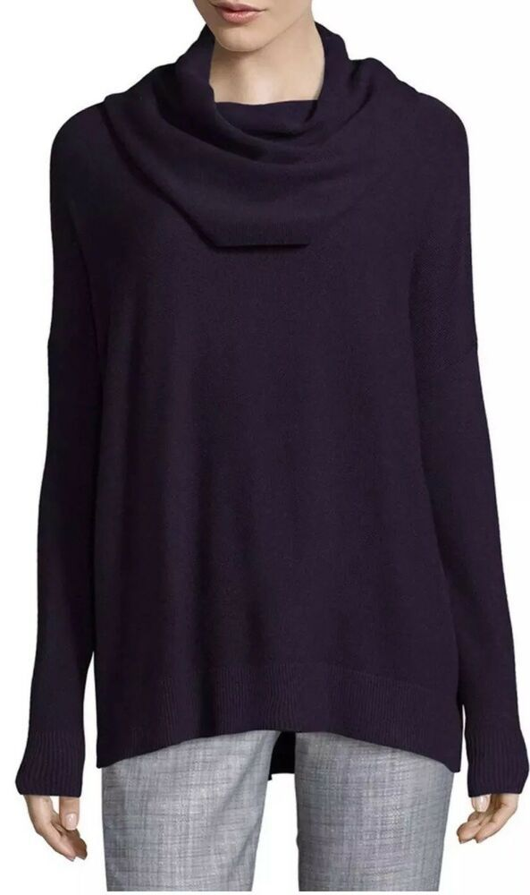 NWT Joie Melantha Loose Cowlneck Sweater In Black Size XS