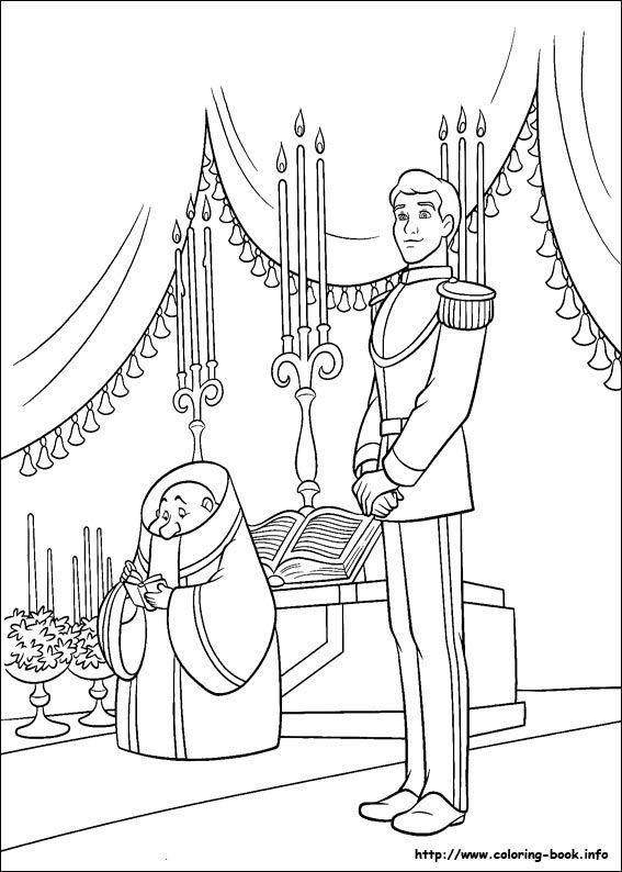 cinderella coloring picture - Cinderella Coloring Book