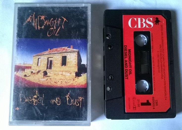 MIDNIGHT OIL - Diesel and Dust - K7 audio cassette tape
