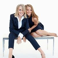 Diane Keaton and daughter, on being an older mom, her daughter is 17 and her son is 12