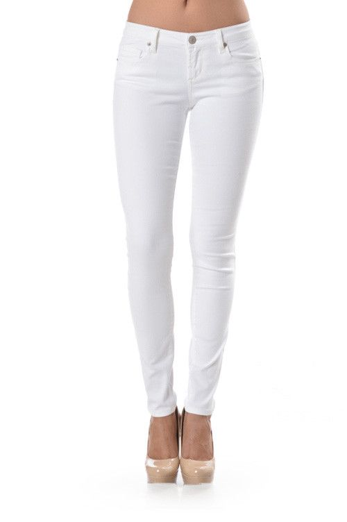 White cropped skinny jeans sale