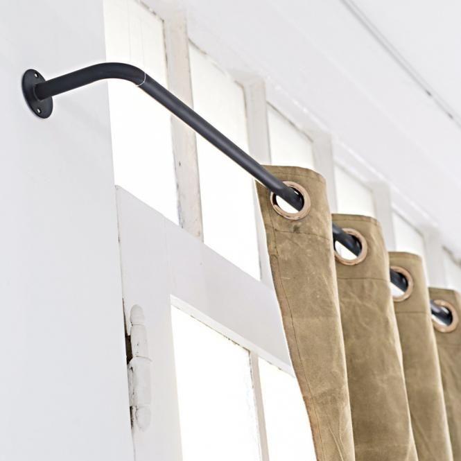 die besten 25 vorhangschienen ideen auf pinterest schiebet r vorh nge wei e gardinenstange. Black Bedroom Furniture Sets. Home Design Ideas