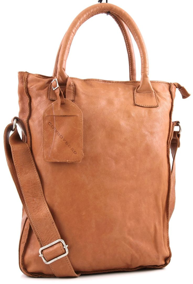 Cowboysbag Dover Tote Leather cognac 36 cm - co1077-cognac | Designer Brands :: wardow.com