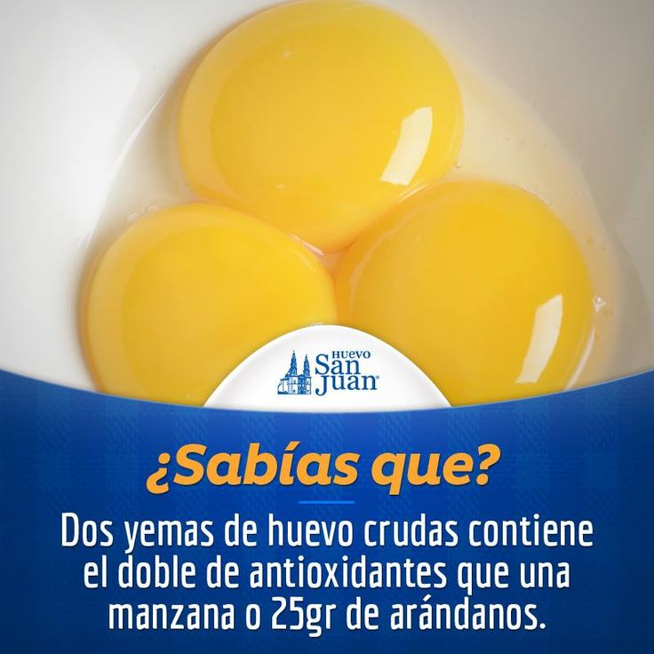 Sabías que #huevo #HuevoSanJuan