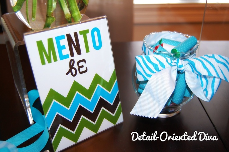 Detail-Oriented Diva!: Little Snapshots from Our Adoption Celebration  Mento Be Party Favor