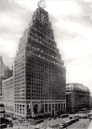 Daytonian in Manhattan: The 1926 Art Deco Paramount Building - Times Squar...