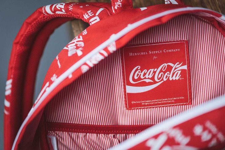 Herschel x Coca Cola now on civiconove.com